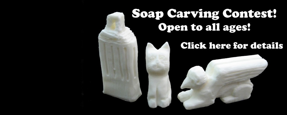 Soap Carving Contest!